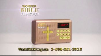 Wonder Bible The Message TV Spot, 'Easy to Follow' - Thumbnail 7