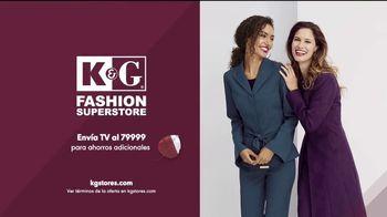 K&G Evento de Moda de Otoño TV Spot, 'Vestidos de mujer, trajes y zapatos' [Spanish] - Thumbnail 5