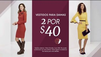 K&G Evento de Moda de Otoño TV Spot, 'Vestidos de mujer, trajes y zapatos' [Spanish] - Thumbnail 2