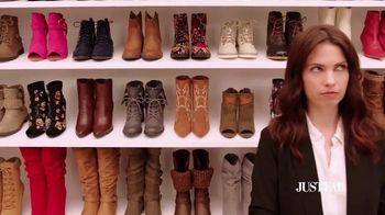 JustFab.com TV Spot, 'Boot Problem'