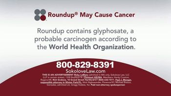 Sokolove Law TV Spot, 'Glyphosate'