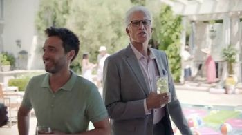Smirnoff TV Spot, 'Jenna Fischer and Ted Danson Have a Big Announcement' - Thumbnail 1