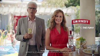 Smirnoff TV Spot, 'Jenna Fischer and Ted Danson Have a Big Announcement' - Thumbnail 8