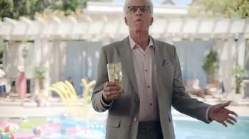 Smirnoff TV Spot, 'Jenna Fischer and Ted Danson Have a Big Announcement' - Thumbnail 2