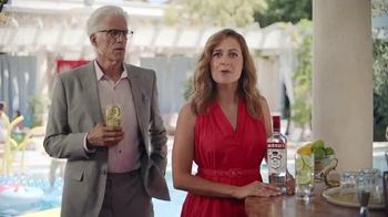 Smirnoff TV Spot, 'Jenna Fischer and Ted Danson Have a Big Announcement' - Thumbnail 4