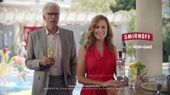 Smirnoff TV Spot, 'Jenna Fischer and Ted Danson Have a Big Announcement' - Thumbnail 6