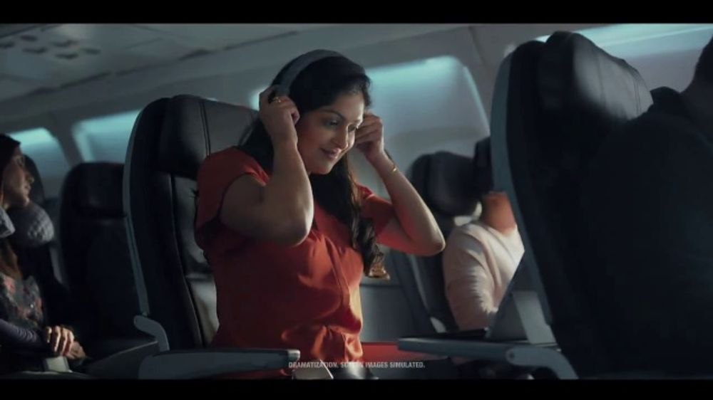 American Airlines TV Commercial Stream Watch Work Repeat