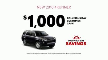 Toyota Columbus Day Savings TV Spot, 'Trucks Built to Last' [T2] - Thumbnail 7