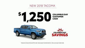 Toyota Columbus Day Savings TV Spot, 'Trucks Built to Last' [T2] - Thumbnail 8
