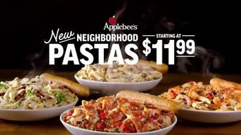 Applebee's Neighborhood Pastas TV Spot, 'At Last' Song by Etta James
