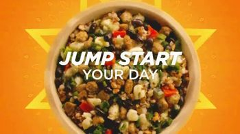 Healthy Choice Power Bowls Morning TV Spot, 'Jump Start Your Day'