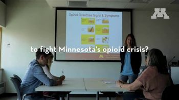 University of Minnesota TV Spot, 'Fighting Minnesota's Opioid Crisis with Grassroots Solutions' - Thumbnail 9