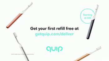 Quip TV Spot, 'Worn Out Toothbrush'