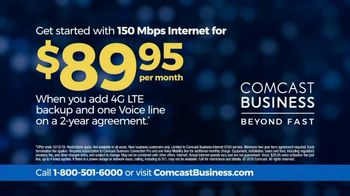 Comcast Business 150 Mbps Internet TV Spot, 'Fast and Reliable' - Thumbnail 10