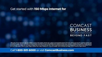 Comcast Business 150 Mbps Internet TV Spot, 'Fast and Reliable' - Thumbnail 9