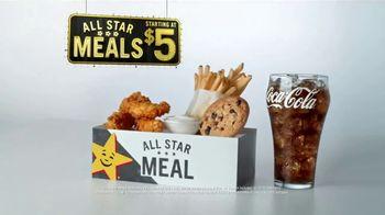Hardee's All Star Meals TV Spot, 'Microwaves Still Exist?' - Thumbnail 4