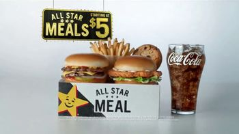 Hardee's All Star Meals TV Spot, 'Microwaves Still Exist?' - Thumbnail 5