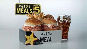 Hardee's All Star Meals TV Spot, 'Microwaves Still Exist?' - Thumbnail 7