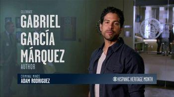 CBS Cares TV Spot, 'Hispanic Heritage Month: Márquez' Feat. Adam Rodriguez