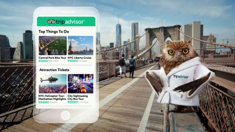 TripAdvisor TV Commercial, 'Book Things to Do'