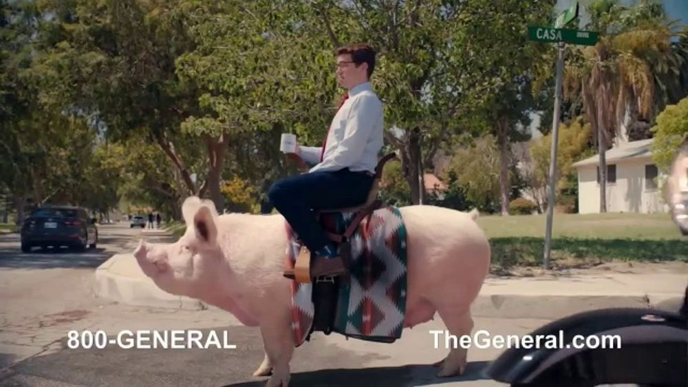 Liberty Mutual Car Insurance Quote >> The General TV Commercial, 'Nice Hog' - iSpot.tv