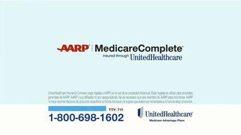 UnitedHealthcare AARP MedicareComplete TV Spot, 'Inscripción' [Spanish]