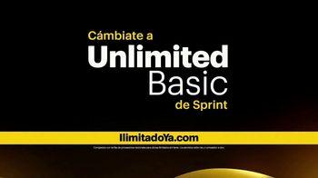 Sprint Unlimited Basic TV Spot, 'Cámbiate al plan ilimitado de Sprint' [Spanish] - Thumbnail 8