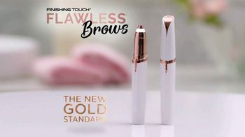 Finishing Touch Flawless Brows TV Spot, 'Micro Precision: Free Shipping' - Thumbnail 2