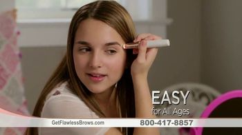 Finishing Touch Flawless Brows TV Spot, 'Micro Precision: Free Shipping' - Thumbnail 9