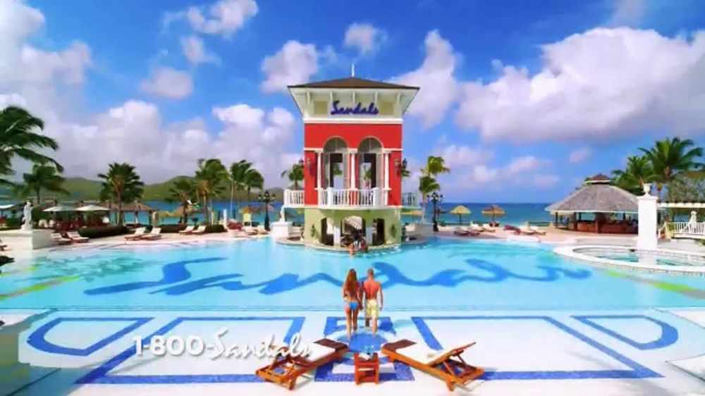 7056718f5ee9ed Sandals Resorts TV Commercial
