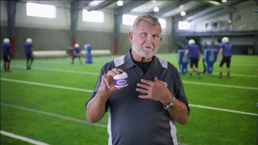 Blue-Emu Super Strength Cream TV Commercial, 'Iron Mike Feels a Little Rusty' Featuring Mike Ditka