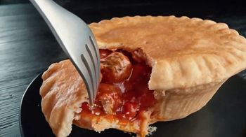 Banquet Mega Meat Lovers Deep Dish Pot Pie TV Spot, 'Dig In'