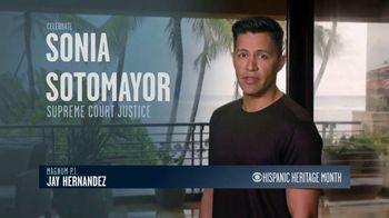 CBS Cares TV Spot, 'Hispanic Heritage Month: Sonia Sotomayor' Featuring Jay Hernandez