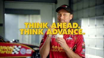 Advance Auto Parts TV Spot, 'Battery: Think Ahead. Think Advance.' Featuring Courtney Force - Thumbnail 9
