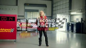 Advance Auto Parts TV Spot, 'Battery: Think Ahead. Think Advance.' Featuring Courtney Force - Thumbnail 2