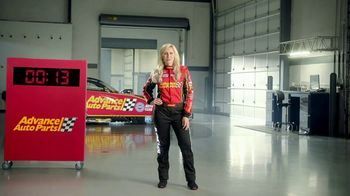 Advance Auto Parts TV Spot, 'Battery: Think Ahead. Think Advance.' Featuring Courtney Force