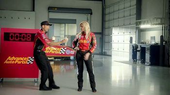 Advance Auto Parts TV Spot, 'Battery: Think Ahead. Think Advance.' Featuring Courtney Force - Thumbnail 6