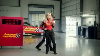 Advance Auto Parts TV Spot, 'Battery: Think Ahead. Think Advance.' Featuring Courtney Force - Thumbnail 7