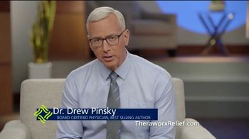 Theraworx Relief TV Spot, 'User Testimonial: Lou' Featuring Dr. Drew Pinsky - Thumbnail 7