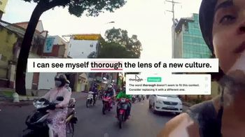 Grammarly TV Spot, 'Words to Travel the World' - Thumbnail 7