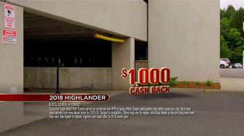 Toyota Fall Savings Event TV Spot, 'Don't Forget: 2018 Highlander' [T2] - Thumbnail 10