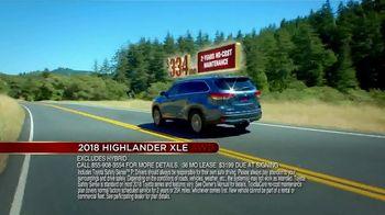 Toyota Fall Savings Event TV Spot, 'Don't Forget: 2018 Highlander' [T2] - Thumbnail 4