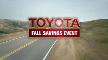 Toyota Fall Savings Event TV Spot, 'Don't Forget: 2018 Highlander' [T2] - Thumbnail 6