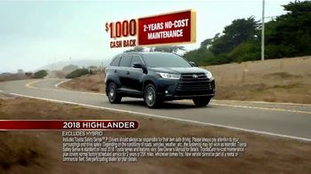 Toyota Fall Savings Event TV Spot, 'Don't Forget: 2018 Highlander' [T2] - Thumbnail 8