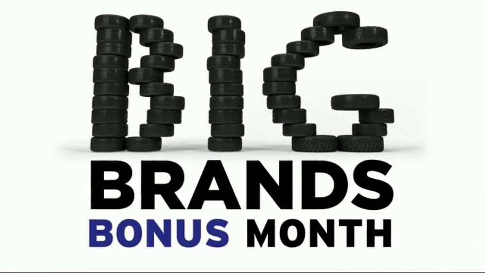 National Tire & Battery Big Brands Bonus Month TV Commercial, 'Michelin Tires: Rebate'