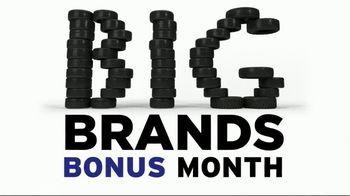 NTB Big Brands Bonus Month TV Spot, 'Michelin Tires: Rebate'