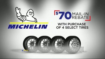 National Tire & Battery Big Brands Bonus Month TV Spot, 'Michelin Tires: Rebate' - Thumbnail 5