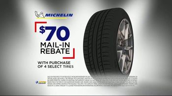 National Tire & Battery Big Brands Bonus Month TV Spot, 'Michelin Tires: Rebate' - Thumbnail 6