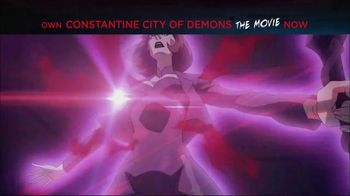 Constantine City of Demons: The Movie Home Entertainment TV Spot