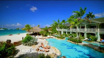 Sandals Resorts TV Spot, 'Quality Inclusions: Time of My Life' - Thumbnail 1